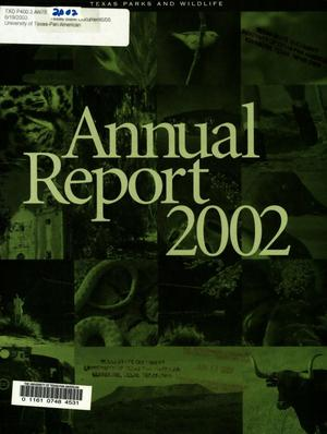 Primary view of object titled 'Texas Parks and Wildlife Department Annual Report: 2002'.