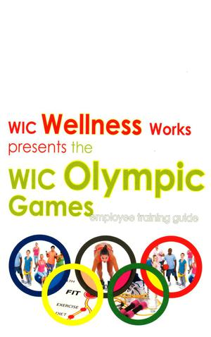 Primary view of object titled 'WIC Olympic Games Employee Training Guide'.