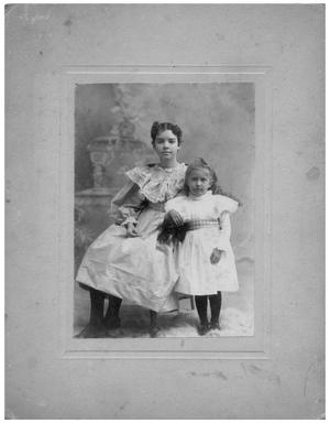 Primary view of object titled '[Portrait of Mary Jane Matthews and Bettie Reynolds]'.