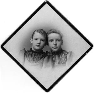 Primary view of object titled '[Portrait of Reubie Campbell and Ella Reynolds]'.