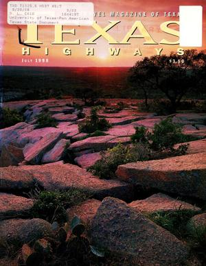 Primary view of object titled 'Texas Highways, Volume 45, Number 7, July 1998'.