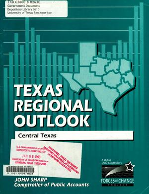 Primary view of object titled 'Texas Regional Outlook, 1992: Central Texas Region'.
