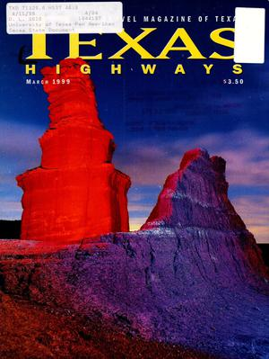 Primary view of object titled 'Texas Highways, Volume 46, Number 3, March 1999'.