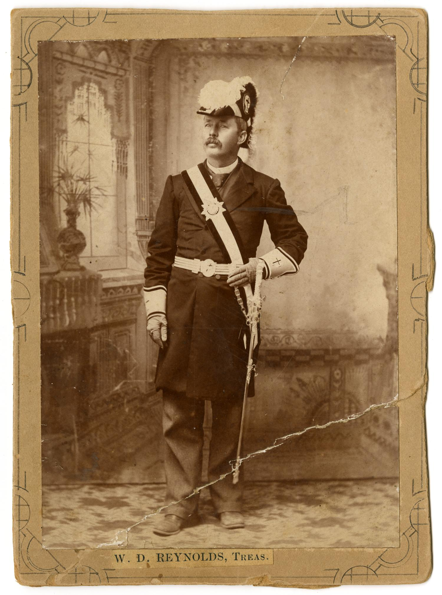 [Portrait of William David Reynolds in Military Regalia]                                                                                                      [Sequence #]: 1 of 2
