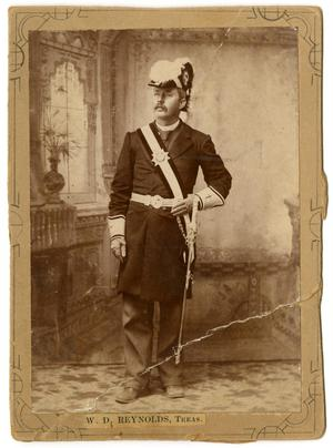 Primary view of object titled '[Portrait of William David Reynolds in Military Regalia]'.
