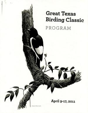 Primary view of object titled 'Great Texas Birding Classic Program'.