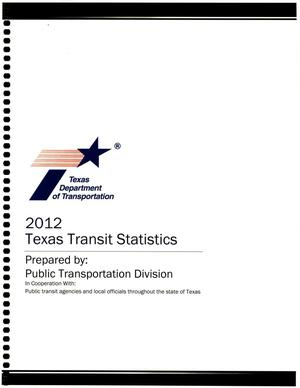 Primary view of object titled '2012 Texas Transit Statistics'.