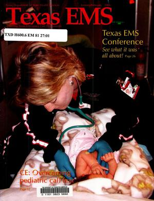 Primary view of object titled 'Texas EMS Magazine, Volume 27, Number 1, January/February 2006'.