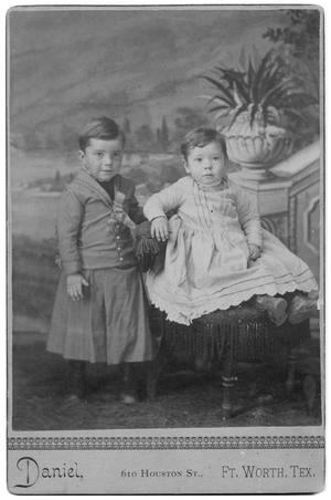 [Portrait of Two Young Children]