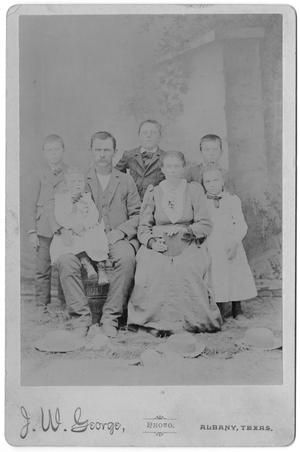 Primary view of object titled '[Portrait of a Family of Seven]'.