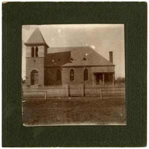 Primary view of object titled '[Matthews Memorial Presbyterian Church]'.