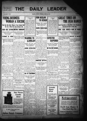 The Daily Leader (Orange, Tex.), Vol. 2, Ed. 1 Thursday, March 25, 1909