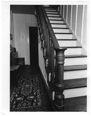 Primary view of object titled '[Staircase and Hallway]'.