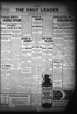 The Daily Leader (Orange, Tex.), Vol. 2, No. 156, Ed. 1 Thursday, August 26, 1909