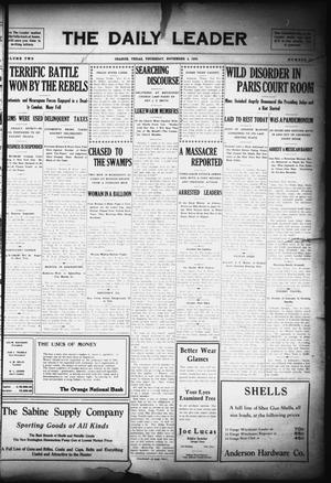The Daily Leader (Orange, Tex.), Vol. 2, No. 215, Ed. 1 Thursday, November 4, 1909