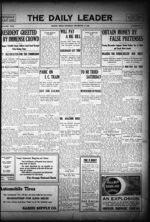 The Daily Leader (Orange, Tex.), Vol. 2, No. 174, Ed. 1 Thursday, September 16, 1909