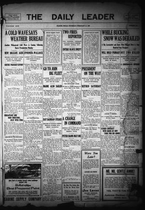 The Daily Leader (Orange, Tex.), Vol. 1, No. 258, Ed. 1 Thursday, February 11, 1909