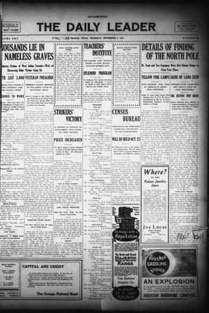 The Daily Leader (Orange, Tex.), Vol. 2, No. 162, Ed. 1 Thursday, September 2, 1909
