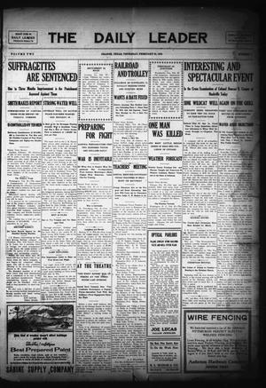 The Daily Leader (Orange, Tex.), Vol. 2, No. 2, Ed. 1 Thursday, February 25, 1909