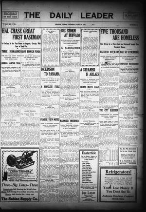 The Daily Leader (Orange, Tex.), Vol. 2, No. 38, Ed. 1 Thursday, April 8, 1909