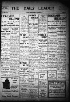 The Daily Leader (Orange, Tex.), Vol. 2, No. 20, Ed. 1 Thursday, March 18, 1909