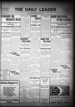 The Daily Leader (Orange, Tex.), Vol. 2, No. 73, Ed. 1 Wednesday, May 19, 1909