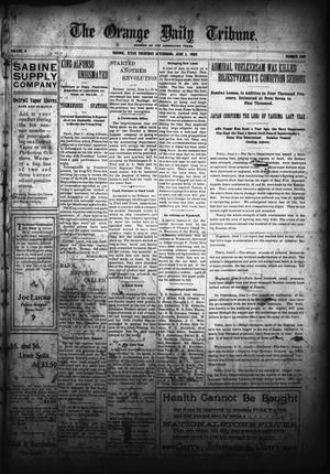 Primary view of object titled 'The Orange Daily Tribune. (Orange, Tex.), Vol. 4, No. 300, Ed. 1 Thursday, June 1, 1905'.