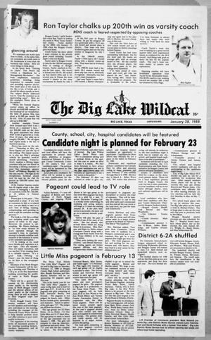 Primary view of object titled 'The Big Lake Wildcat (Big Lake, Tex.), Vol. 63, No. 4, Ed. 1 Thursday, January 28, 1988'.