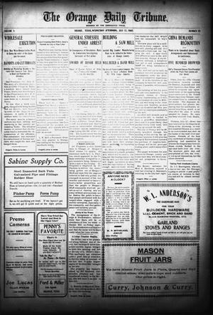 The Orange Daily Tribune. (Orange, Tex.), Vol. 5, No. 19, Ed. 1 Wednesday, July 12, 1905