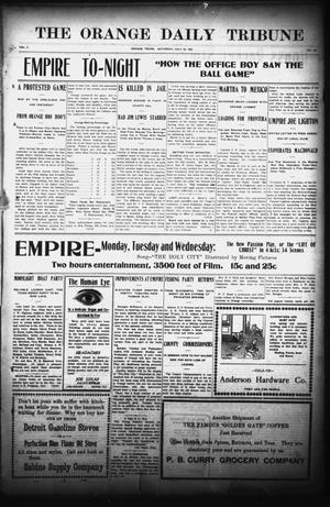 The Orange Daily Tribune (Orange, Tex.), Vol. 7, No. 145, Ed. 1 Saturday, July 20, 1907