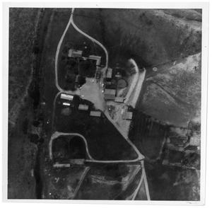 Primary view of object titled '[Aerial View of Ranch Property]'.