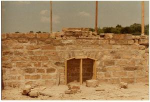 Primary view of object titled '[Stone Wall Under Construction]'.