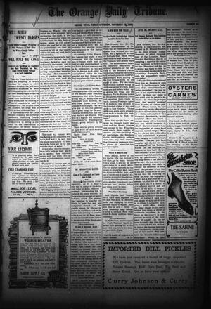 Primary view of object titled 'The Orange Daily Tribune. (Orange, Tex.), Vol. 5, No. 115, Ed. 1 Friday, November 24, 1905'.
