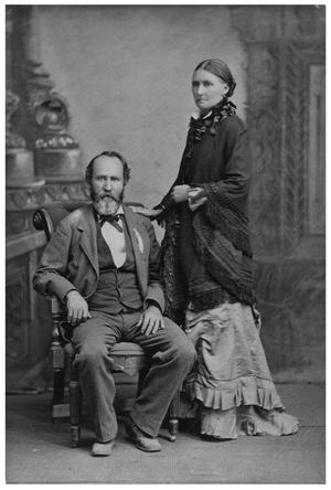 Primary view of object titled '[Portrait of Joseph Beck Matthews and Caroline Spears Matthews]'.