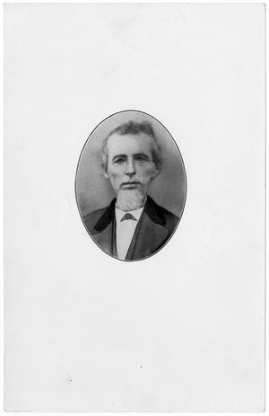 Primary view of object titled '[Oval Portrait of Barber Watkins Reynolds]'.