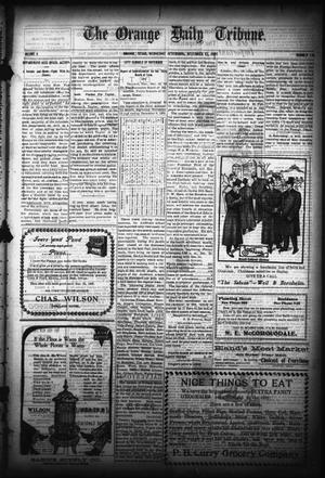 Primary view of object titled 'The Orange Daily Tribune. (Orange, Tex.), Vol. 5, No. 131, Ed. 1 Wednesday, December 13, 1905'.