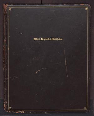 [Watt Reynolds Matthews Photo Album]