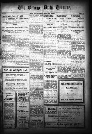 Primary view of object titled 'The Orange Daily Tribune. (Orange, Tex.), Vol. 4, No. 324, Ed. 1 Thursday, June 29, 1905'.