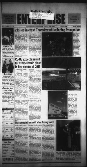Primary view of object titled 'Polk County Enterprise (Livingston, Tex.), Vol. 128, No. 97, Ed. 1 Sunday, December 5, 2010'.