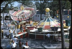 Primary view of object titled 'Fiesta Island-Rides at HemisFair '68'.