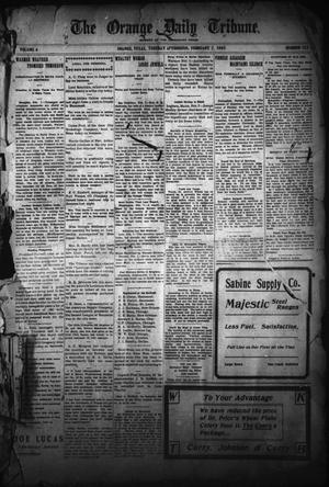 The Orange Daily Tribune. (Orange, Tex.), Vol. 4, No. 133, Ed. 1 Tuesday, February 7, 1905