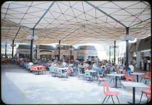 Primary view of object titled 'Food Court at HemisFair '68'.