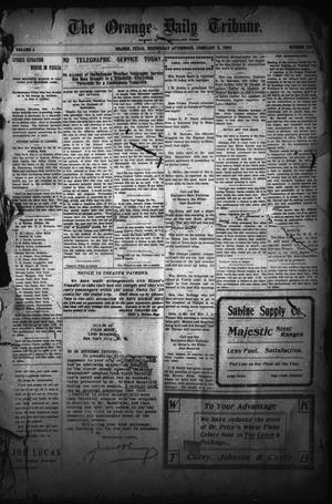 The Orange Daily Tribune. (Orange, Tex.), Vol. 4, No. 134, Ed. 1 Wednesday, February 8, 1905