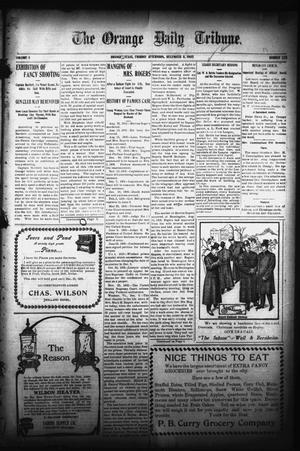 Primary view of object titled 'The Orange Daily Tribune. (Orange, Tex.), Vol. 5, No. 125, Ed. 1 Friday, December 8, 1905'.