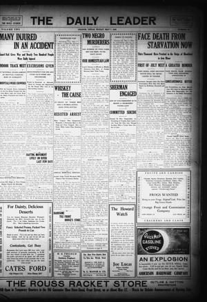 Primary view of object titled 'The Daily Leader (Orange, Tex.), Vol. 2, No. 63, Ed. 1 Friday, May 7, 1909'.
