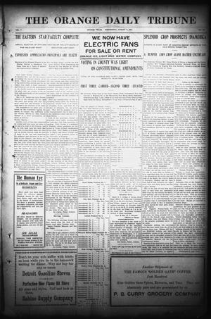 Primary view of object titled 'The Orange Daily Tribune (Orange, Tex.), Vol. 7, No. 158, Ed. 1 Wednesday, August 7, 1907'.
