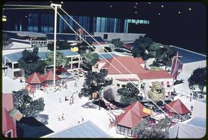 Primary view of object titled 'Model - Sky Ride at HemisFair '68'.