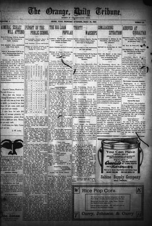 Primary view of object titled 'The Orange Daily Tribune. (Orange, Tex.), Vol. 4, No. 176, Ed. 1 Wednesday, March 29, 1905'.