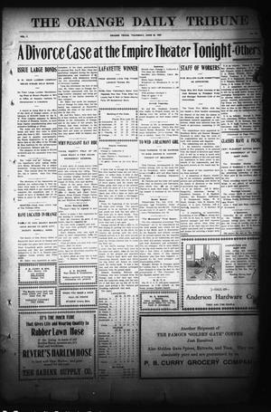 Primary view of object titled 'The Orange Daily Tribune (Orange, Tex.), Vol. 7, No. 126, Ed. 1 Thursday, June 20, 1907'.