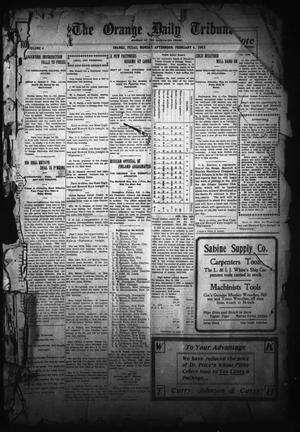 The Orange Daily Tribune. (Orange, Tex.), Vol. 4, No. 132, Ed. 1 Monday, February 6, 1905